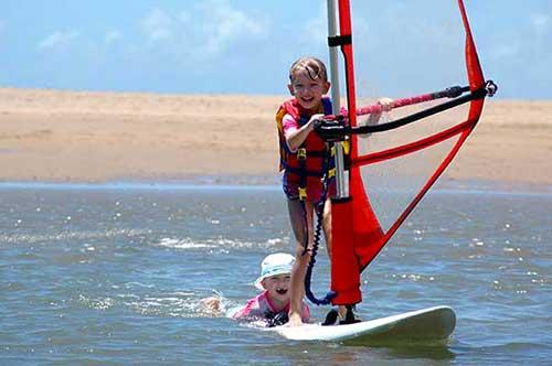 corso windsurf bambini